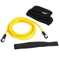 #QZO Adjustable Swim Training Resistance Belt 3m Safety Rope Swimming Pool Tool
