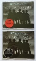 MY CHEMICAL ROMANCE THE GHOST OF YOU 2 x UK CD Singles Brand New 2005