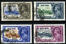 HONG KONG King George V 1935 Silver Jubilee Set SG 133 to SG 136 VFU