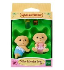 Sylvanian Families - Yellow Labrador Twins - Brand New