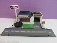 Micro Machines Ciudad ciudad esquinas Completa Motor Playset Vintage Galoob para coches