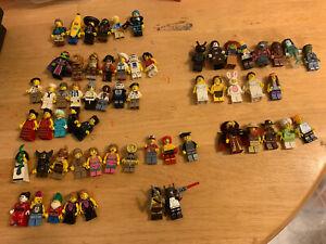 Lego Collectable Minifigure Series Bundle 60 Minifigures CMF Bunny Guy & Spares