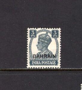Bahrain 1942-44 3p OVERPRINT  MH SC 38