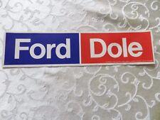 1976 GERALD FORD & BOB DOLE ORIGINAL  CAMPAIGN BUMPER STICKER
