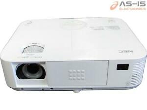 *AS-IS* NEC NP-M322W WXGA Conference Room Projector