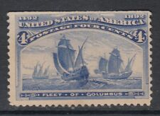 """USA MIINT NG Scott #233  4 cent ultra  """"Columbian Exposition"""""""