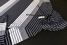 Ralph Lauren Polo Striped cotton Jersey Hoodie Pullover Shirt Big Tall 2LT NEW