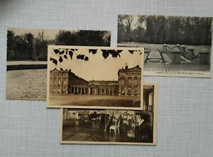 Compiegne 1918 / 1922, Marschall Foch, Schloss und  Gedenkstätte