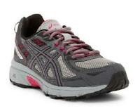 Asics Gel-Venture 6 Women's Shoes Gray+Pink Athletic Casual Trail T7G7N Wide