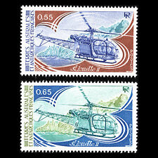 TAAF 1981 - Sud Aviation Alouette II Helicopter - Sc 95/6 MNH