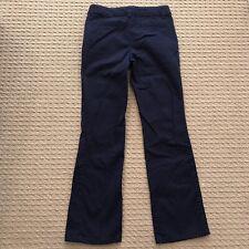 Euc! Girls Size 8 Cherokee Navy Blue Basic Dress Pants - School Uniform Smod