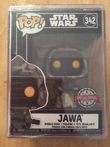Star Wars Futura Funko Pop #342 Jawa Sealed in Pop Stack