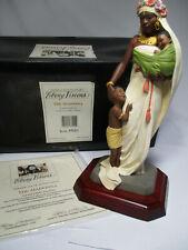 Thomas Blackshear's Ebony Visions The Madonna Figurine Item 37001 Signed w/Coa