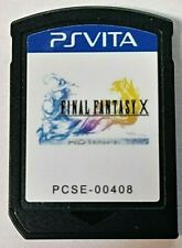 Final Fantasy X/X-2 Hd Remaster Ps Vita Sony PlayStation Vita Cartridge Only Rpg