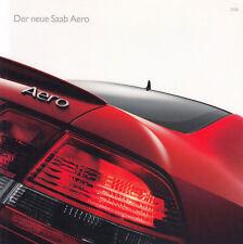 SAAB AERO 93 9-3 2.8 V6 Combi Cabrio 95 9-5 Turbo Prospekt Brochure 2006 64