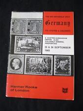 HARMER ROOKE AUCTION CATALOGUE 1965 GERMANY 'ARCHIBALD' COLLECTION