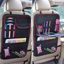 2x Rücksitz Autositz Organizer Kinder rückenlehnenschutz Rückenlehnen mit Tasche