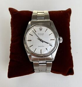 Rolex Oyster Precision Vintage Stainless Steel Ref 6426
