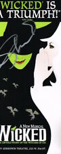 Shoshana Bean Elphaba SIGNED Wicked Flyer Gershwin COA