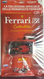 1/43 Ferrari 412 T2 1995 Jean Alesi Ferrari F1 Collection nuovo con fascicolo