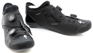Specialized S-Works Ares Carbon Road Bike Shoes EU 42 US Men 9 Black 3 Bolt BOA