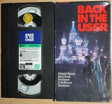 BACK IN THE USSR (vhs) Frank Whaley, Roman Polanski. Good Cond. Rare. Thriller
