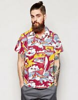 Levi's Vintage Clothing LVC Shirt Bay Meadows Overhead Hawaiian Surf £150 New M