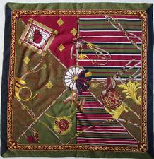 -Superbe Foulard  PIERRE BALMAIN  polyester TBEG  vintage scarf  78 x 80 cm