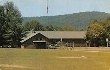 SHARON CONNECTICUT SILVER LAKE CONGREGATIONAL CONFERENCE CENTER POSTCARD 1960s