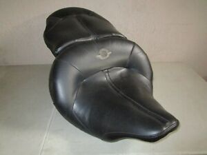 HARLEY DAVIDSON ROAD ZEPPELIN LEATHER AIR RIDE ADJUSTABLE SEAT '97 - '07 TOURING
