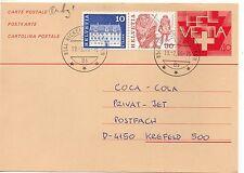 Suiza Entero Postal Cieculado año 1986 (DE-748)