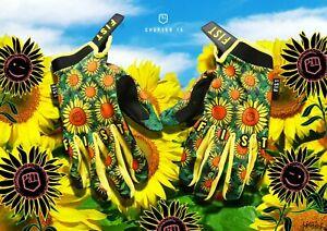 NEW 2021 Fist Handwear Chapter 15 Collection - SUNFLOWER Glove MX Enduro MTB