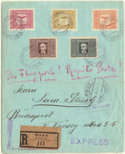 1922: Austria - Hungary. Airmail Cover Express