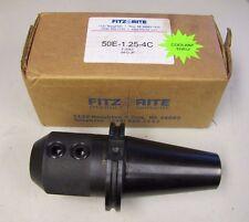 Fitz Rite 50e 125 4c F 4763 0412 Jp V Flange End Mill Holders Coolant Thru Nib