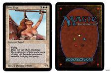 MRM ENGLISH Serra Angel Good+ Exc- MTG magic Alpha SAA01