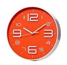 SonYo Indoor/Outdoor Big 3D Number Quartz Wall Clock Quiet Sweep Movement Living