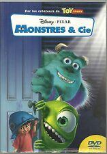 DVD - WALT DISNEY PIXAR : MONSTRES ET & CIE