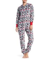 HELLO KITTY ~ One Pc Union Suit Jumper Pajamas ~ Ladies Women's ~ L Large ~ NEW