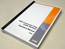 Case 580D/Super D Loader Backhoe Operators Manual Owners Maintenance Book NEW