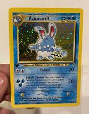 Azumarill 1st Edition 2/111 Holo - Neo Genesis - Pokémon Card - WOTC