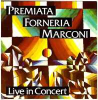 PREMIATA FORNERIA MARCONI (PFM) Live in Concert CD 1970s Italian Prog Rock