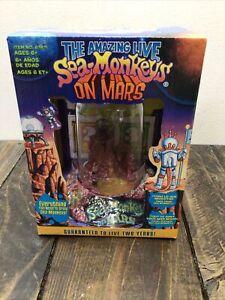 The Amazing Live Sea Monkeys On Mars - NEW (READ)