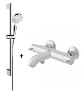 Vado Celsius Zoo Thermostatic Bath Shower Bar Valve Tap Wall Mounted TMV2 Riser