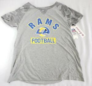 -= NFL Teens Team Apparel Los Angeles Rams Shirt Large 11/13 NEW