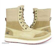 UGG Avalanche Butte Desert Tan Suede Fur Boots Mens Size 13 *NIB*