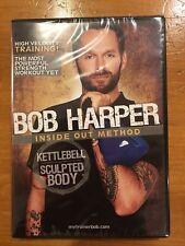 Bob Harper Inside Out Method Kettlebell Sculpted Body Workout Fitness Dvd
