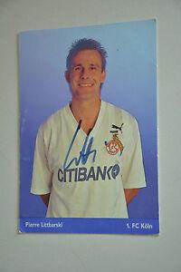 Pierre Littbarski 1 FC Köln 1992/93 handsigniert
