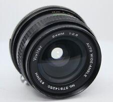 Nikon Mount Vivitar 24mm F2.8 Camera Lens - Fungus & Broken Aperture