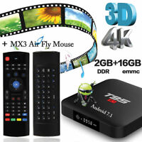 Android 7.1 TV Box Amlogic S905W T95 S1 2GB+16GB with MX3 Multi Air Fly Mouse