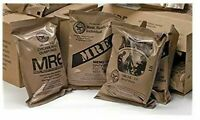 MRE U.S. MILITARY Case A/B 4 Random Draw - MEAL, READY TO EAT